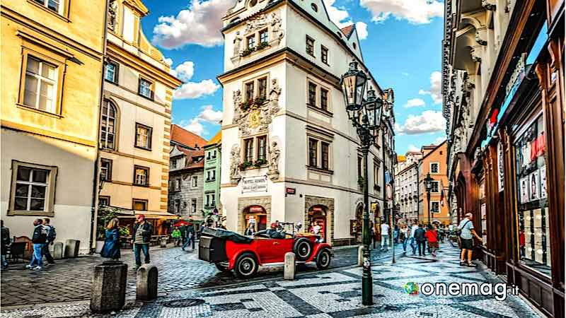 Praga, architettura della città vecchia