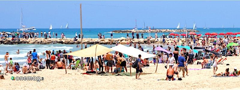 Tel Aviv, spiaggia