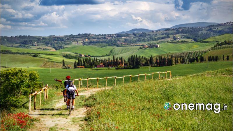 Toscana, Bicicletta