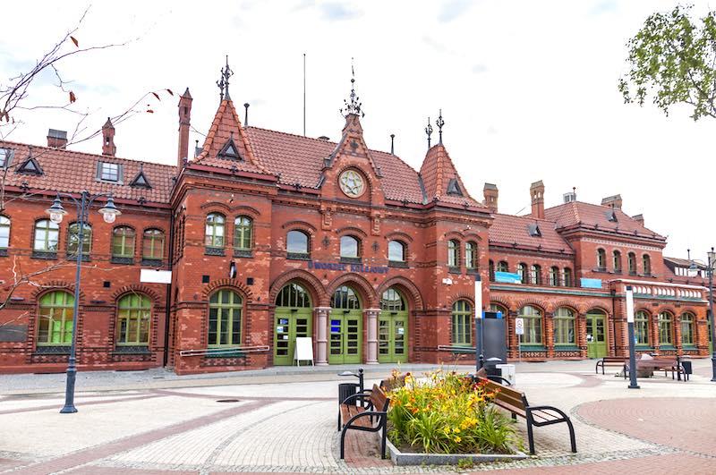 Cosa vedere a Malbork, la stazione ferroviaria
