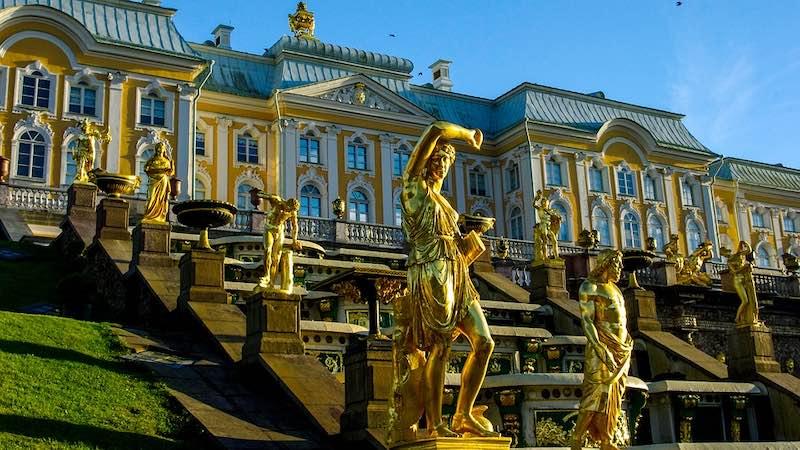 Peterhof, San Pietroburgo