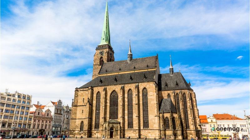Cosa vedere a Plzen, Cattedrale di San Bartolomeo
