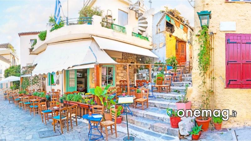 Visitare Atene spendendo poco, dove mangiare