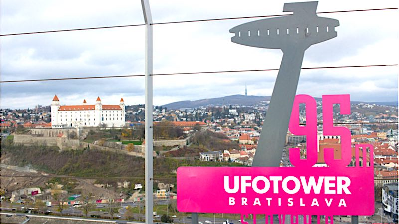 Bratislava, Ufo Tower