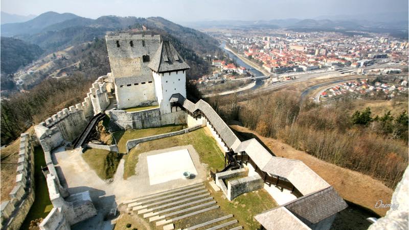 Il castello di Celje