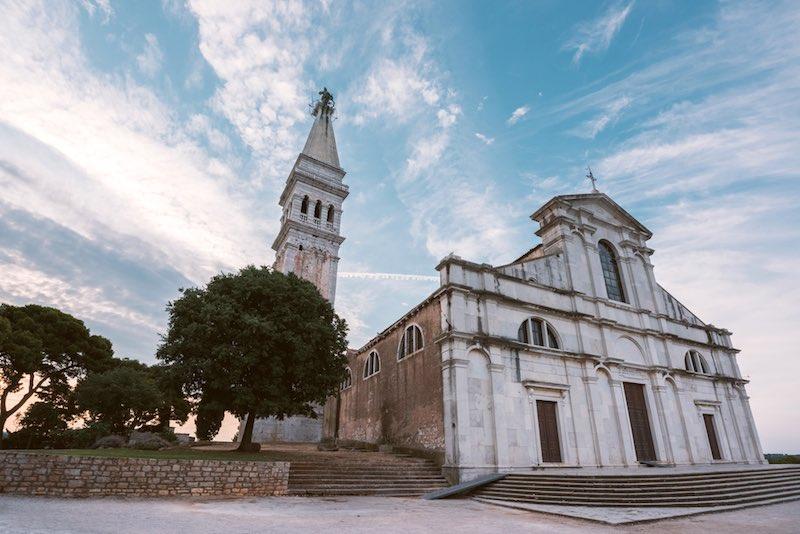 Cosa vedere a Rovigno, Chiesa di Sant'Eufemia