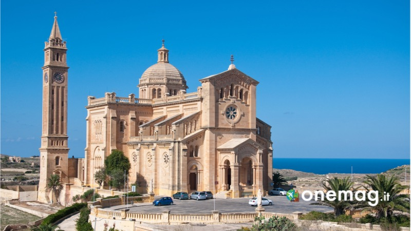 Cosa vedere a Gozo, la Basilica di Nostra Signora di Ta Pinu