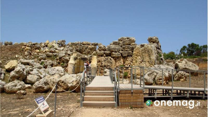 Cosa vedere a Gozo, il Tempio di Ggantija