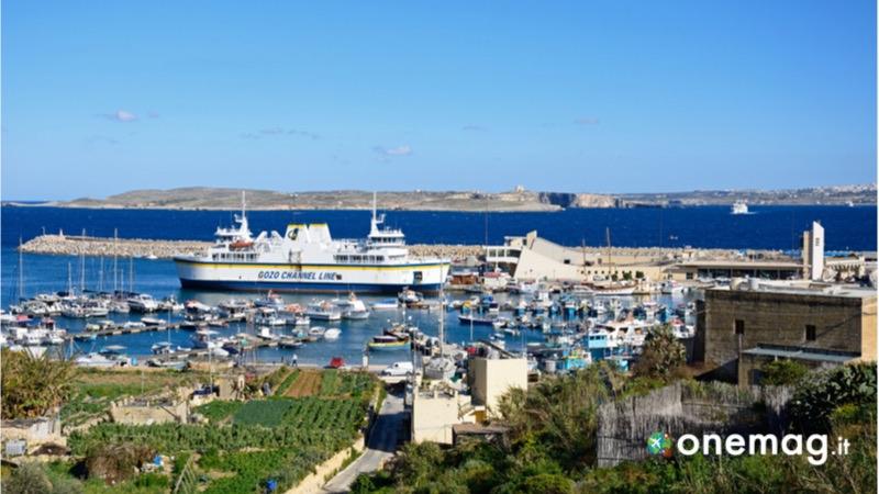 Cosa vedere a Gozo, il porto di Mgarr