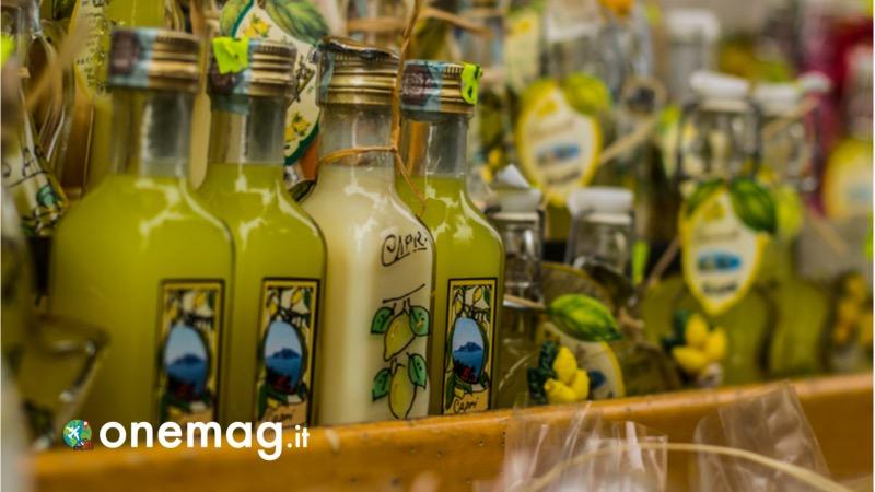 Cosa vedere a Sorrento, la gastronomia - limoncello