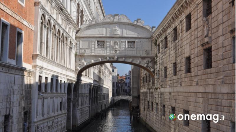 Cosa visitare a Venezia, il Ponte dei sospiri