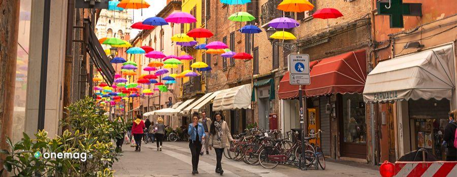Cosa vedere a Ferrara, via del centro storico