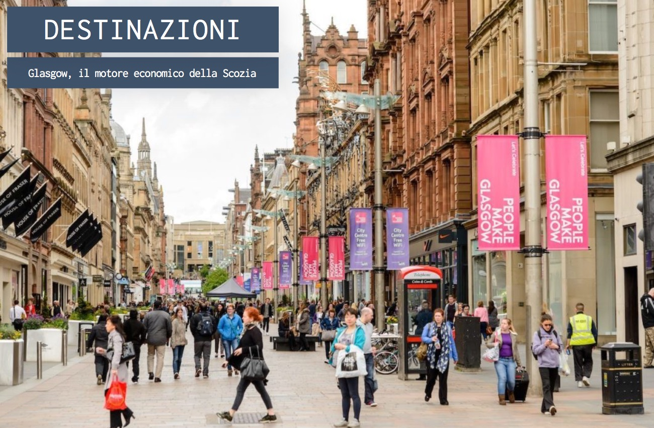 Glasgow, il motore economico della Scozia
