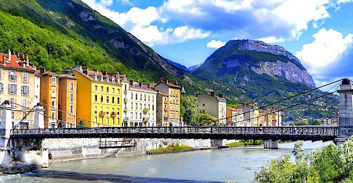 Cosa vedere a Grenoble, veduta panoramica
