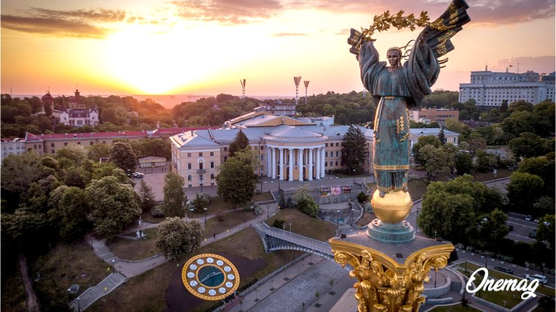 Kiev, la capitale dell'Ucraina