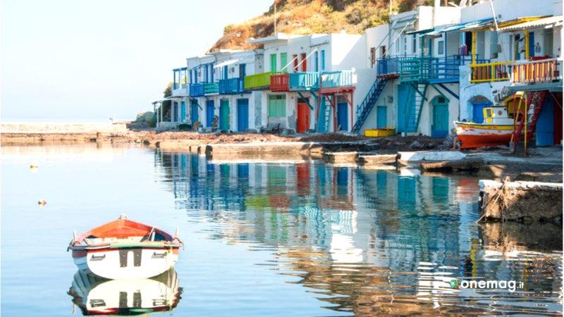 Cosa vedere sull'isola di Milos, Klima