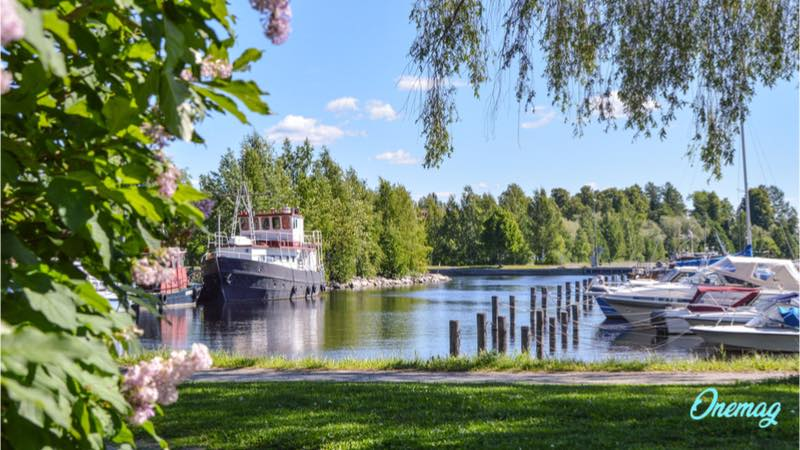 Kuopio, il lago Kallavesi