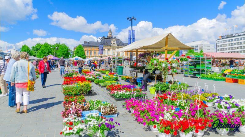 Kuopio, il mercato