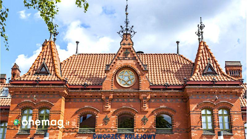 Malbork, la stazione ferroviaria