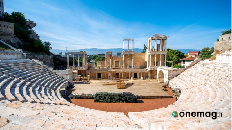 Cosa vedere in Bulgaria, l'antico teatro di Plovdiv