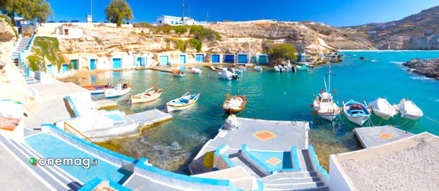 Cosa vedere sull'isola di Milos, Mantrakia