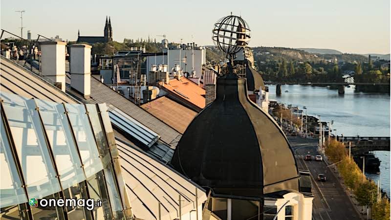 Praga, veduta dall'alto