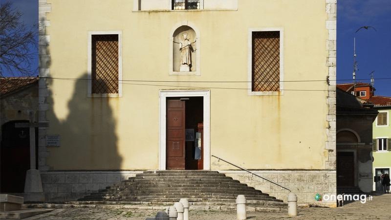 Cosa vedere a Rovigno, il Convento Francescano