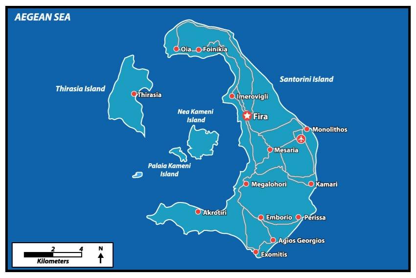 Le migliori spiagge di Santorini