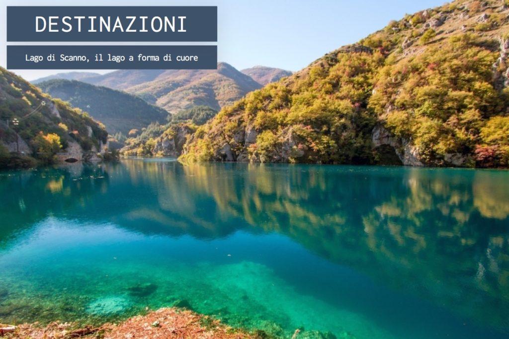 Lago di Scanno, il lago abruzzese a forma di cuore – OneMag, idee di ...
