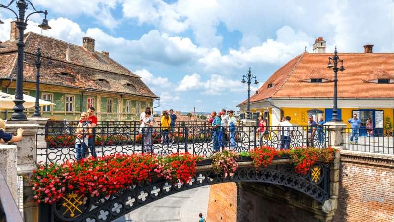 Sibiu, veduta
