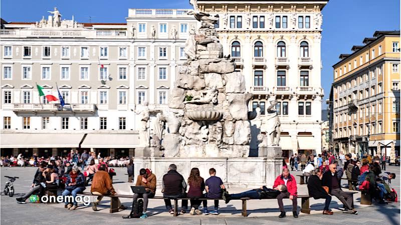 Trieste, Fontana dei Quattro Continenti
