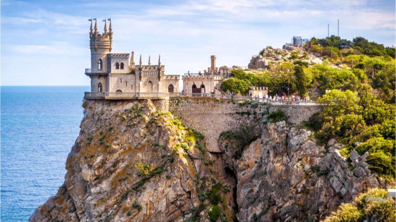 Yalta, castello