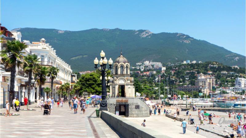 Cosa vedere a Jalta, lungomare
