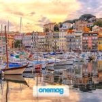 Cannes, il mare della capitale glamour della Costa Azzurra