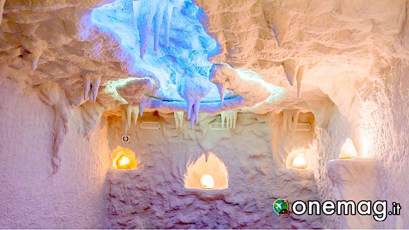 Grotta di sale, Terme di Corvinus