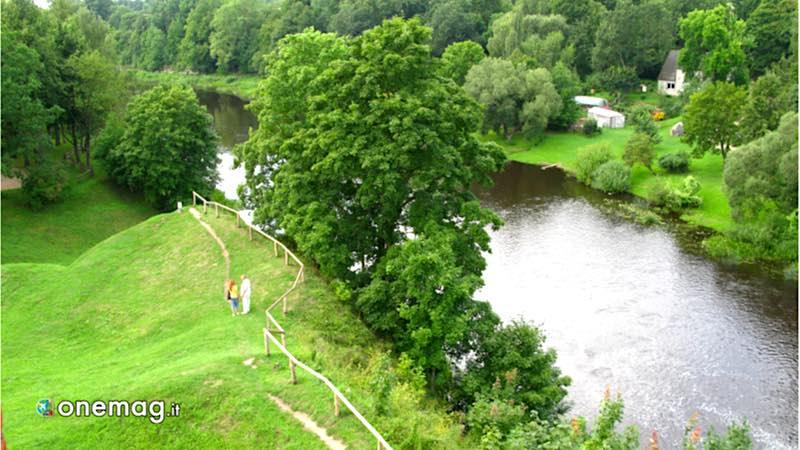 Bauska, fiume