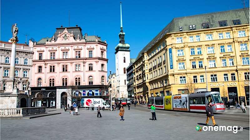 Brno, Piazza della Libertà