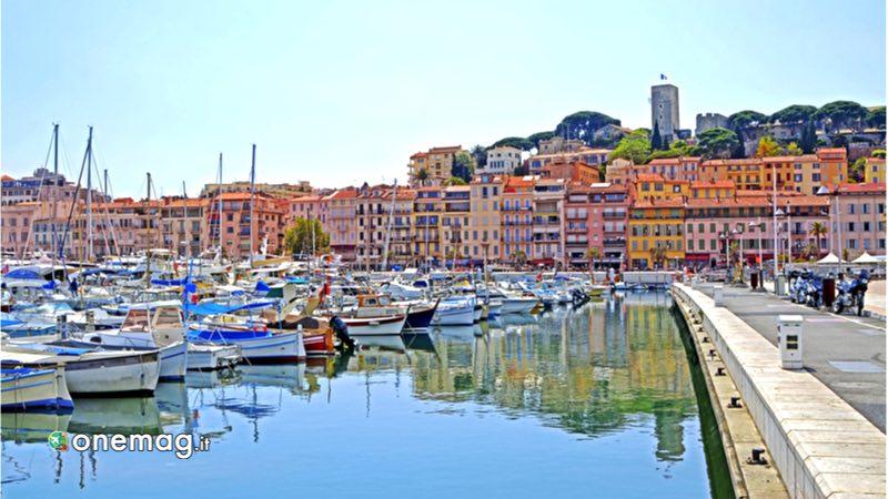 Cannes, città vecchia e porto