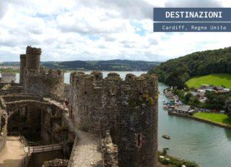 Cardiff, castello sul mare