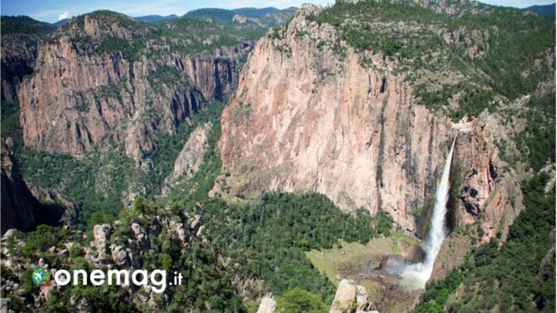 Le cascate più belle del Messico, la cascata di Basaseachi