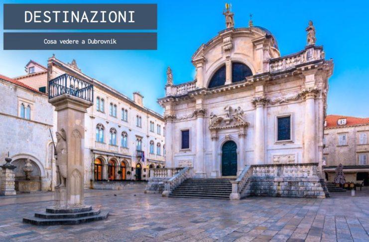 Dubrovnik, la città penisola croata sull'Adriatico