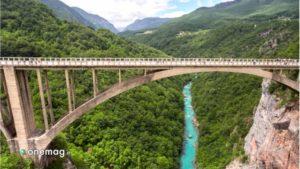Durmitor, ponte sul fiume Tara