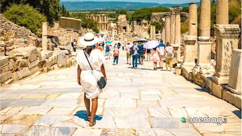 Efeso, veduta