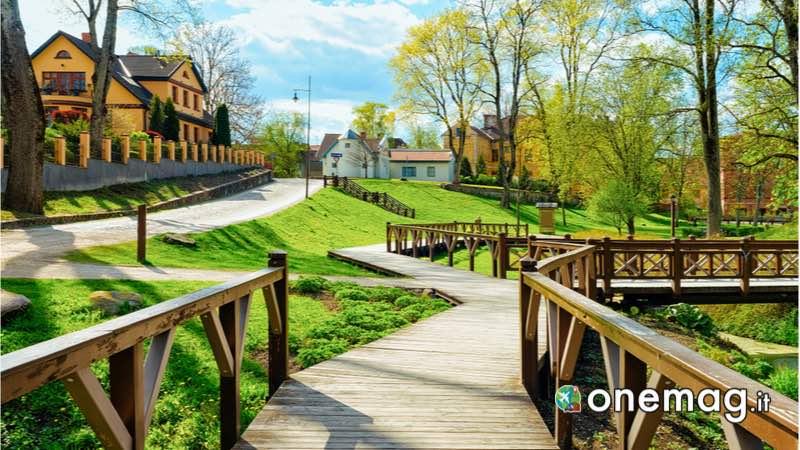 Parco cittadino di Kuldiga