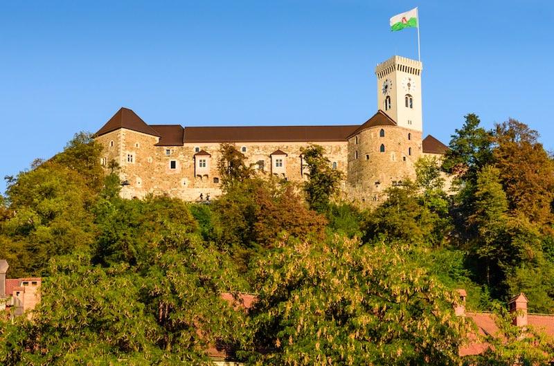 Cosa vedere a Lubiana, il Castello