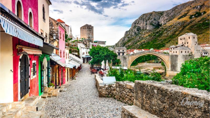 Il vecchio ponte di Mostar