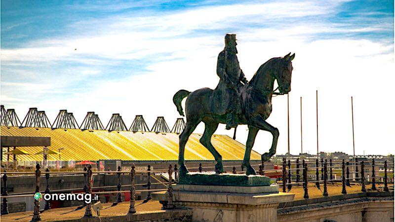 Ostenda, statua equestre