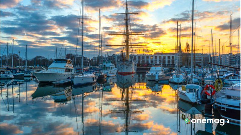 Ostenda, veduta dal porto