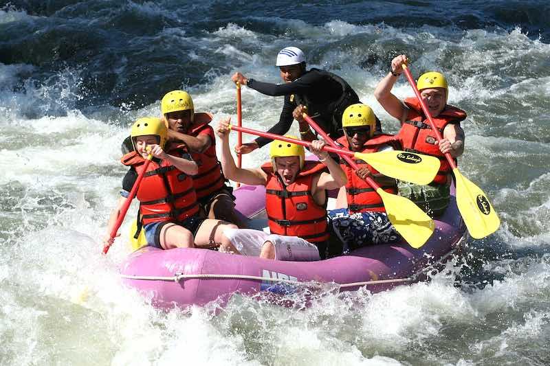 Rafting, cascate di Kravice