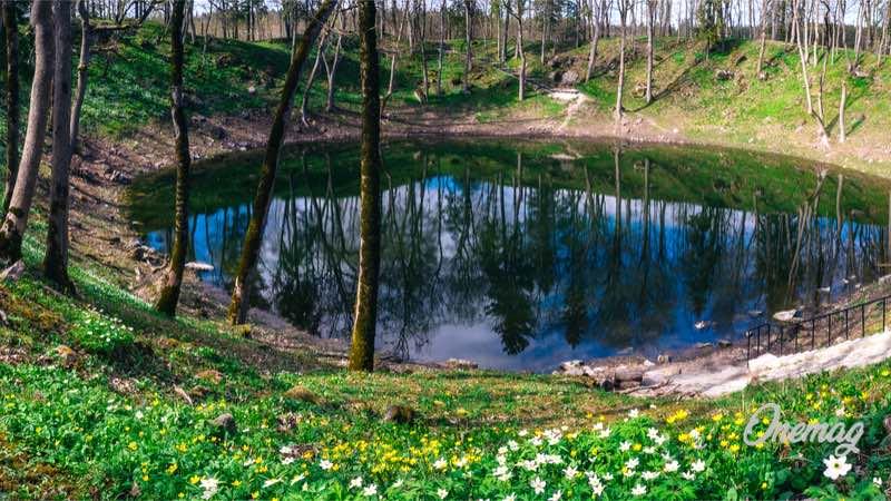 Saaremaa, cratere